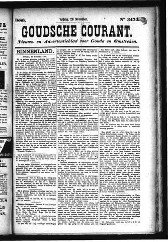 Goudsche Courant 1886-11-26