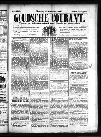 Goudsche Courant 1900-11-05