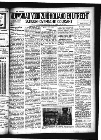 Schoonhovensche Courant 1942-08-21