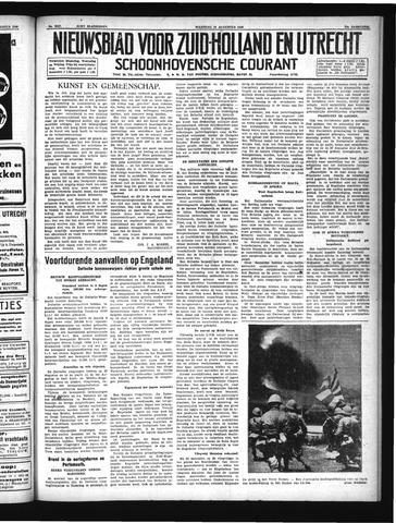 Schoonhovensche Courant 1940-08-26