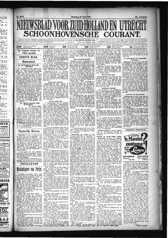 Schoonhovensche Courant 1929-04-29