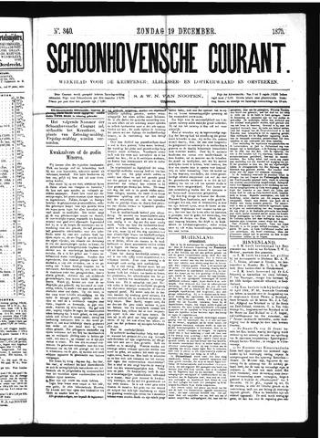 Schoonhovensche Courant 1875-12-19