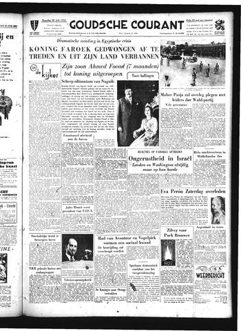 Goudsche Courant 1952-07-28