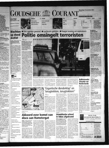 Goudsche Courant 2004-11-10