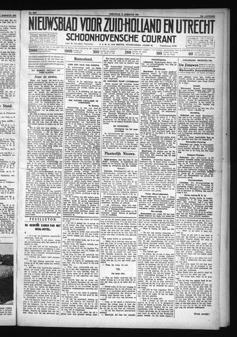 Schoonhovensche Courant 1931-08-19