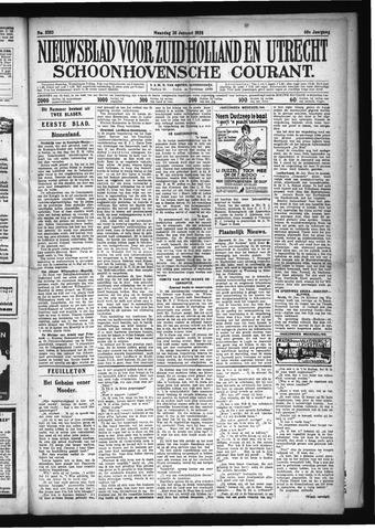 Schoonhovensche Courant 1928-01-30