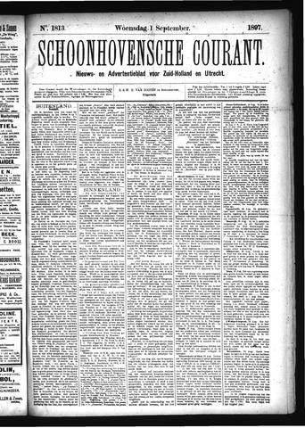 Schoonhovensche Courant 1897-09-01