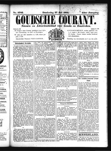Goudsche Courant 1905-07-27
