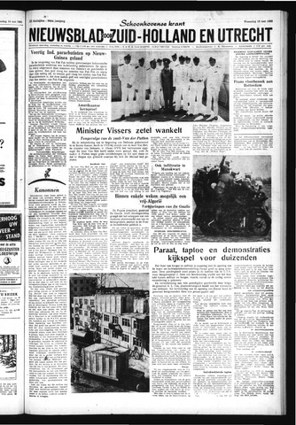 Schoonhovensche Courant 1962-05-16