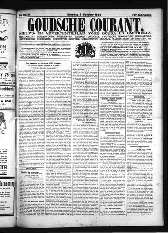 Goudsche Courant 1933-10-03