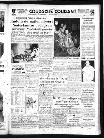 Goudsche Courant 1958-11-04