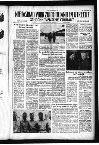 Schoonhovensche Courant 1957-09-30