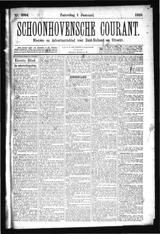 Schoonhovensche Courant 1910