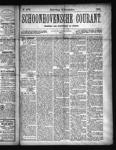 Schoonhovensche Courant 1889-12-14