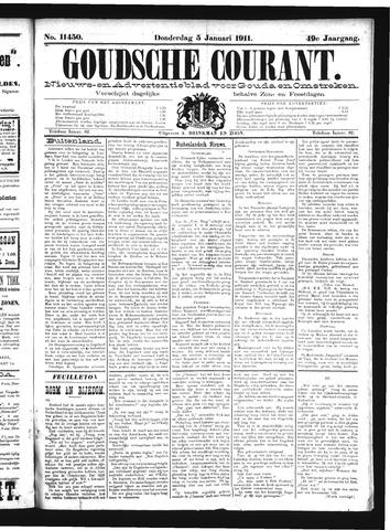 Goudsche Courant 1911-01-05