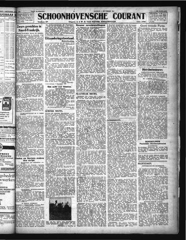 Schoonhovensche Courant 1944-09-05