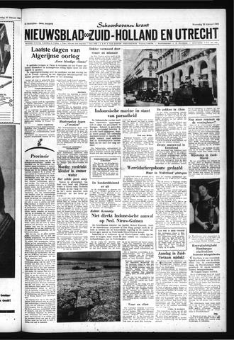 Schoonhovensche Courant 1962-02-28