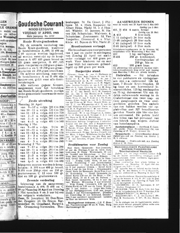 Goudsche Courant 1945-04-27