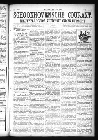 Schoonhovensche Courant 1926-04-14