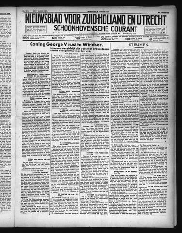 Schoonhovensche Courant 1936-01-29
