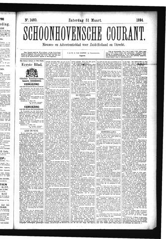 Schoonhovensche Courant 1894-03-31