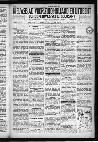 Schoonhovensche Courant 1930-08-15