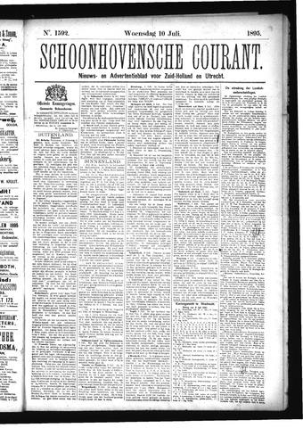 Schoonhovensche Courant 1895-07-10