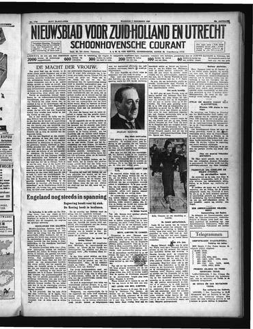 Schoonhovensche Courant 1936-12-07