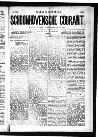 Schoonhovensche Courant 1877-09-30