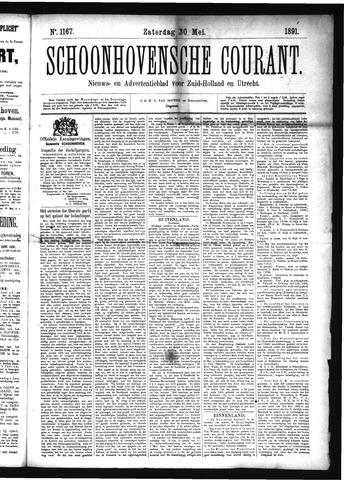 Schoonhovensche Courant 1891-05-30