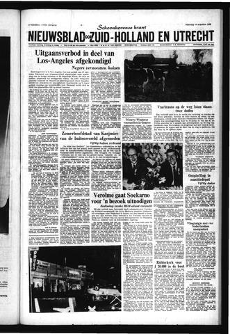 Schoonhovensche Courant 1965-08-16