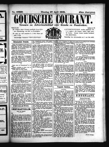 Goudsche Courant 1909-04-27