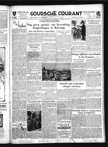 Goudsche Courant 1951-09-04