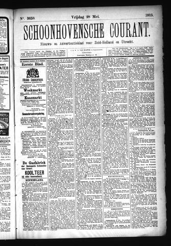 Schoonhovensche Courant 1915-05-28