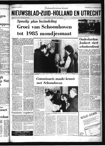 Schoonhovensche Courant 1975-01-22