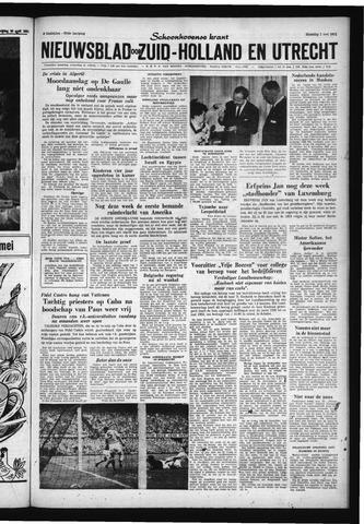 Schoonhovensche Courant 1961-05-01