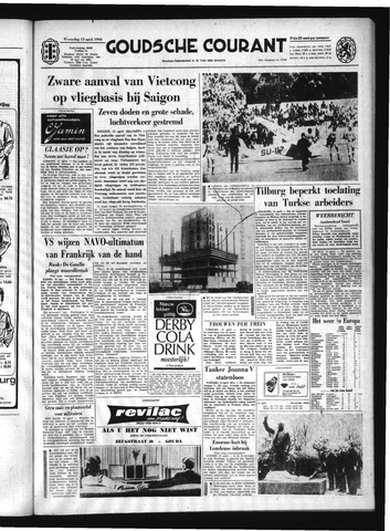 Goudsche Courant 1966-04-13