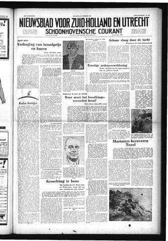 Schoonhovensche Courant 1952-10-27