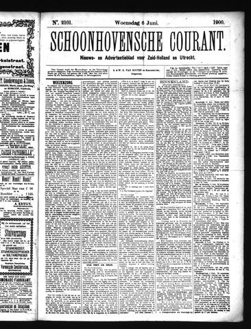 Schoonhovensche Courant 1900-06-06