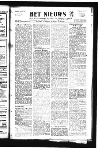 Schoonhovensche Courant 1945-07-23