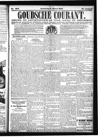 Goudsche Courant 1923-01-11