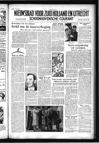 Schoonhovensche Courant 1957-05-03