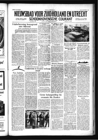 Schoonhovensche Courant 1956-02-10