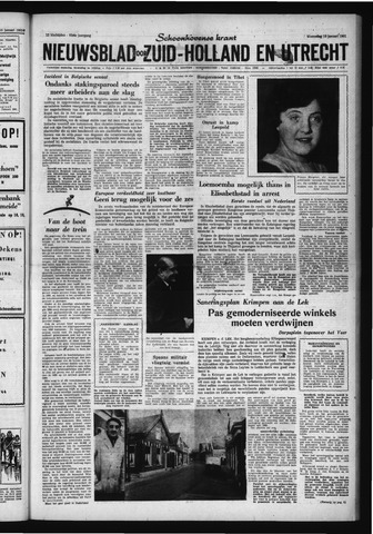Schoonhovensche Courant 1961-01-18