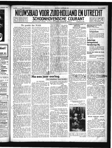 Schoonhovensche Courant 1940-09-02