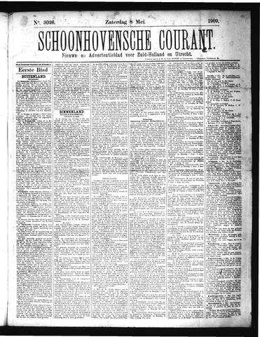 Schoonhovensche Courant 1909-05-08
