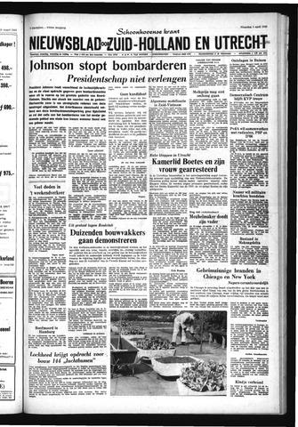 Schoonhovensche Courant 1968-04-01