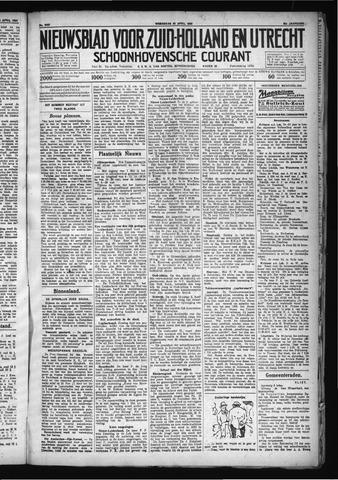 Schoonhovensche Courant 1930-04-30