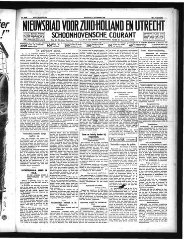 Schoonhovensche Courant 1938-11-07