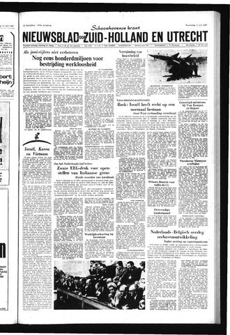 Schoonhovensche Courant 1967-06-14